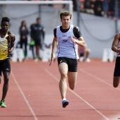 100m Christophe Lemaitre