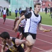 Relais 4x100m Christophe Lemaitre