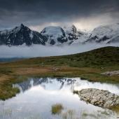 Mont blanc depuis Carlaveyron