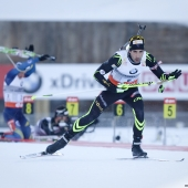 Biathlon - Grand Bornand - Fourcade