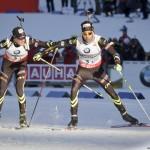 Biathlon - Simon DESTHIEUX & Martin FOURCADE (Equipe de France)