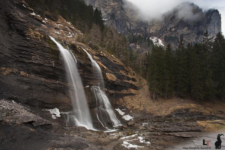 Cascade du Rouget - RN Sixt-Passy