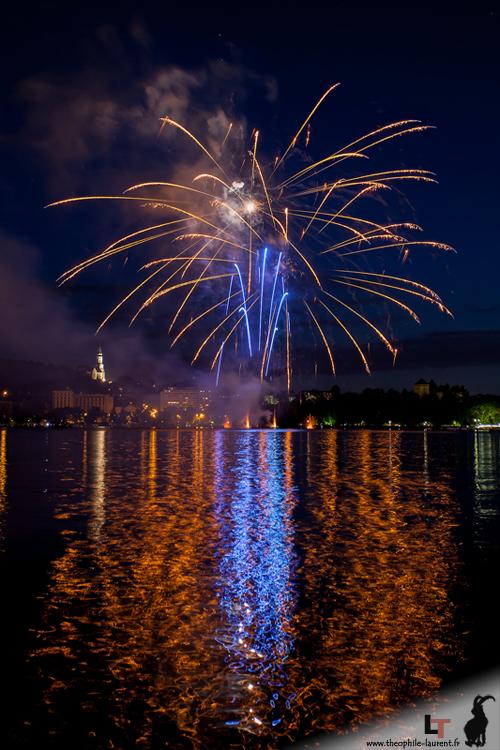 Feu d'artifice du 14 juillet - Annecy