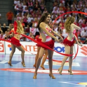 Cheerleaders - Euro Handball Pologne 2016